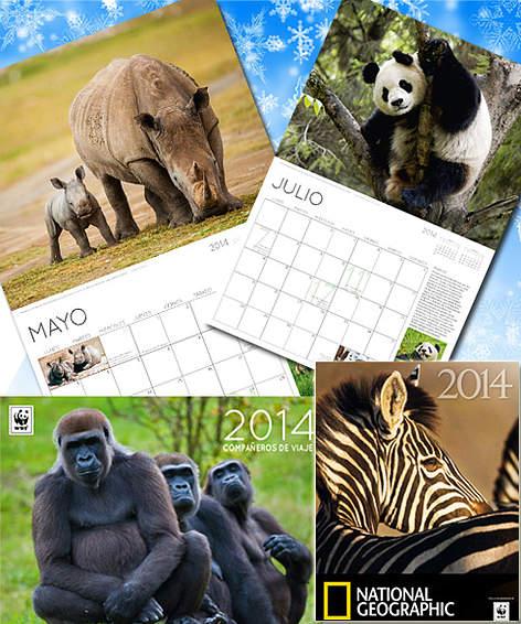 Calendario y agenda 2014 / ©: WWF