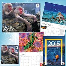 Calendarios y agenda 2015 / ©: WWF