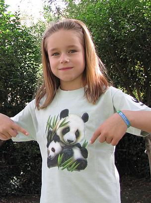 Camiseta WWF infantil / ©: WWF