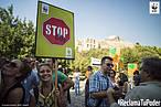 Manifestación en Atenas para reclamar medidas contra el cambio climático<br />©Andrea Bonetti / WWF Grecia