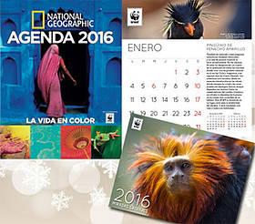 Calendarios y agenda 2016 / ©: WWF