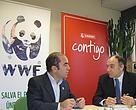 Firma del convenio entre WWF y Eroski