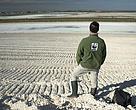 WWF evaluando el estado de la marisma en abril de 2014