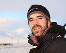 Guillermo Prudencio, del equipo de comunicación de WWF España en la expedición al Ártico