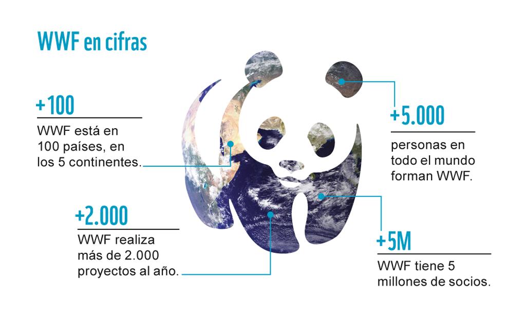 Imagen de la web de WWF para evidenciar su eslogan
