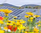 Energía solar voltaica. Foto tomada en Lucainena de las Torres, Andalucia
