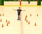 Javier Raya, patinador olímpico, en la Hora del Planeta