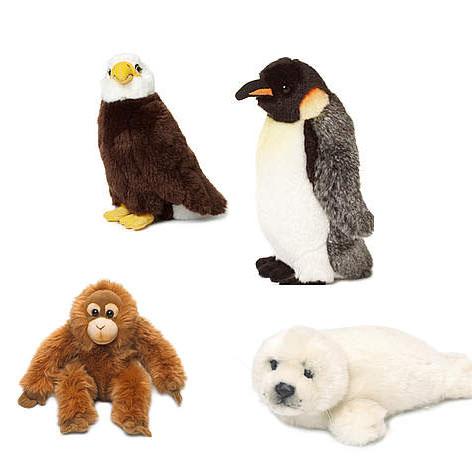 Peluches águila / ©: WWF
