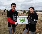Plantación en Red 2016 en el Refugio de Rapaces de Montejo de la Vega (Segovia)