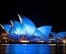 La ópera de Sidney se apaga por la Hora del Planeta