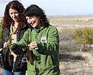 Técnico de WWF explica las tareas de restauración